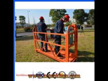 2017 Shanghai Sale Zlp630 Rope Suspended Platform