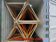 4 axle mobile tower crane