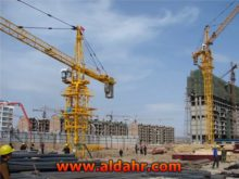 5 axle mobile tower crane