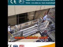 8 3mm spraying steel counterweight suspended platform