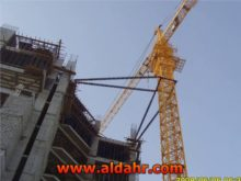8 Ton Flat Top Tower Crane with Good Price Qtz100 5613