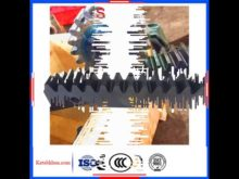 Alloy Steel High Precision Spur Gear Rack And Pinion