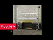 Altrex, Folding/Rolling Tower, Vouw-/Rolsteiger, Fahr-/Klappgerüst 3400, Rolsteiger
