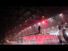 Altrex  suspended platforms in stadium Ahoy Rotterdam (NL)