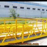 Aluminium Power Wire Rope Suspended Platform