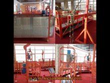 Aluminium Scaffolding Safe Zlp Suspended Platform