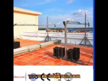 Aluminum Fitting Stage Window Cleaning Platform