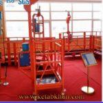 Aluminum Power Lift Climber/Bmu Gondola Zlp 630