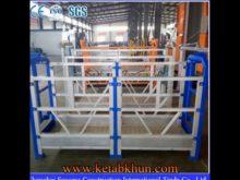 Aluminum Stage Rope Suspended Work Platform