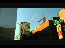 AmQuip Grove GMK7550 taking down a tower crane