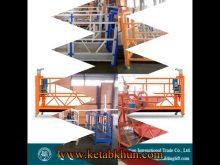 Anti Tilted Suspended Platform/ Gondola/ Swing Stage
