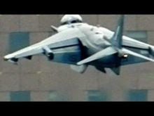 AV-8B Harrier hovering at thunder 2012