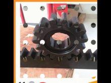 Black Or Galvanized Color Alloy Gear Rack
