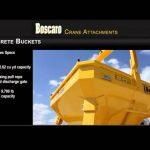 Boscaro Concrete Bucket