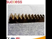 Building Construction Elevator Gear Rack And Pinion, Rack And Pinion For Hoist Mast Section
