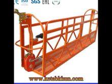 Building Construction Suspended Work Platform