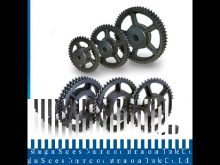 Building Elevator Spare Parts Helical Gear Racks And Pinions / Rack And Pinion Of Linear Actuator