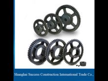 Building Elevator Spare Parts Linear Motion System / Helical Gear Racks And Pinions