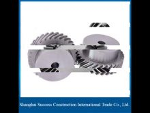 Building Elevator Spare Parts Rack And Pinion Jack/20 Teeth Helical Rack Used And Pinion