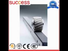 Building Elevator Spare Parts Rack And Pinion Of Linear Actuator / Cnc Machine Parts