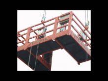 Building hoist Construction Elevator Cradle Lifter Gondola Suspended Platform products show