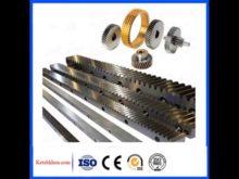 C45 High Precision Spur Gear And Gear Rack79*79*1000 Module 8