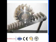 C45 M2 Gear Rack And Pinion For Cnc Machine