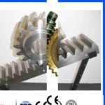 C45 Steel M1 Gear Rack And Pinion