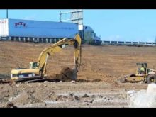 Cat 322CL and CP 563E