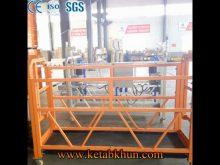 Ce Approve Large Space Steel Suspended Platform