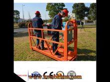 Ce Iso Certificate 800kgs Steel Suspended Platform