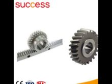Ce Sgs Ceitificated Spur Small Gear Rack And Pinion For Constructyion Lift