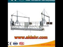 china gondola Suspended Platform 6m window cleaning platform 630kg loading construction cradles
