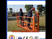 China original Steel Material hoist suspended platform by Air