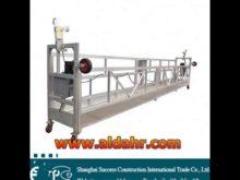 CHINA Price 7 5m length hoist suspended platform Manufacturer