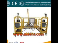 Compact Structure Rope Suspended Platform Swing/Stage