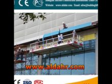 Competitive Price 5m length ZLP series suspended platform by railway