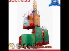 Construction Building Material Hoist Work Platform Suspended
