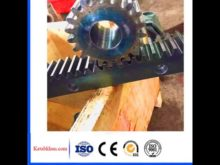 Construction Elevator Spare Parts Rack And Pinion With Sgs