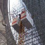 construction elevator,building hoist,construction lift,passenger and material hoist,material lift