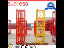 Construction Engineering Machinery Elevator and Double Cage Hoist Construction Crane