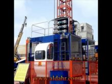 Construction Hoist at Low Speed SC200/200