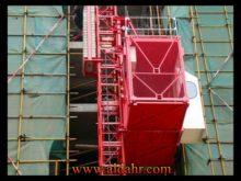 Construction Hoist Double Cage Elevator, Model Sc100/100