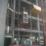 Construction hoist , elevadores de obra , elevador de carga NR18