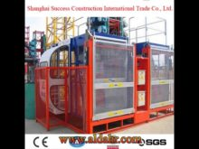 Construction Hoist for Materials and Personnel 2 Tons
