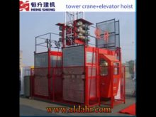 construction hoist installation
