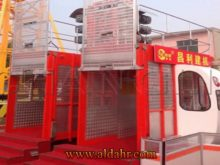 construction hoist lift,construction hoist lifter ,double cage construction hoist