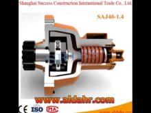 Construction Hoist Needle Roller Bearing Anti Fall Safety Device SAJ SERIES SRIBS