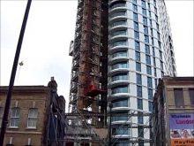 Construction Hoist Project Altitude Alie St London, UBS Hoists