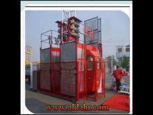 Construction Hoist SC series Single or Double Cage
